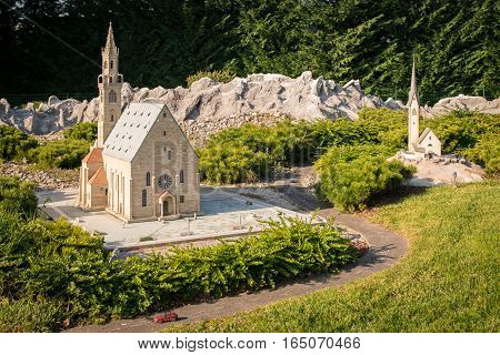 Leolandia Is An Italian Amusement Park Famous For The Miniature Reproduction Of Italy.