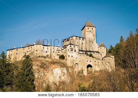 Castle Taufers In Campo Tures, Italy.