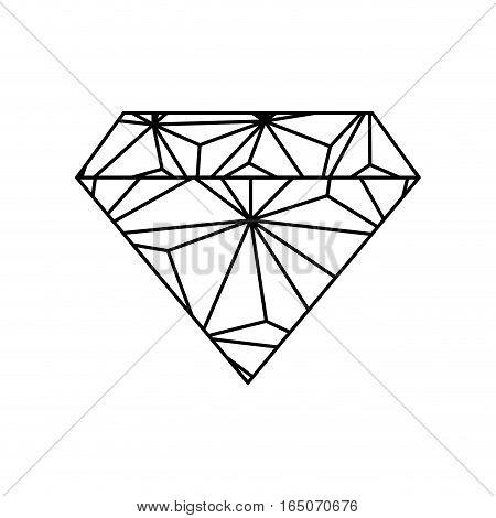 Diamond luxury jewerly icon vector illustration graphic design