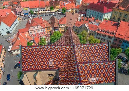 Sibiu is a city in the heart of Romania. It was the capital of Transylvania in the antiquities.