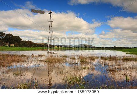 Waterlogged Countryside