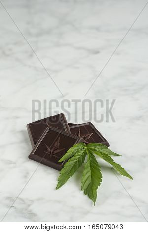 Cannabis is cooked into Medicinal Chocolate Bars