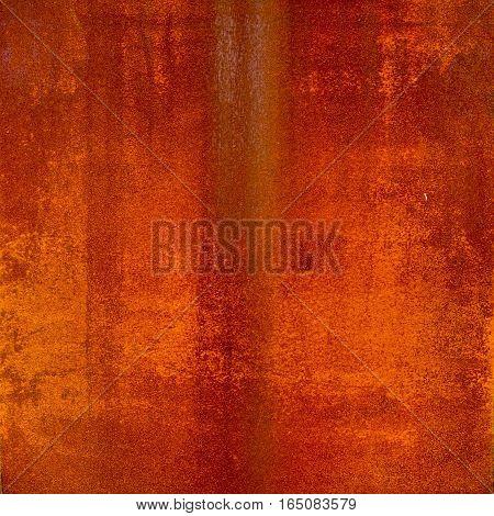 rusty corrugated iron metal texture in the big coffee  shop