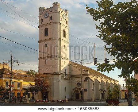 Reformed Church, called 'Csonkatemplom', in Debrecen, Hungary