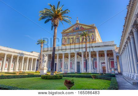 Basilica of St. Paul outside the Walls, Rome, Italy