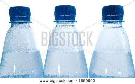 Waterbottles Closeup