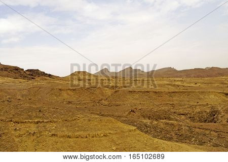 Mountains in Sahara desert, Tunisia, Northen Sahara