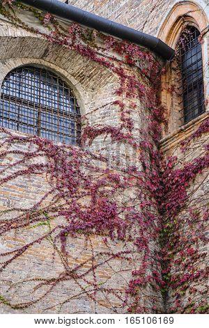 Monza (Brianza Lombardy Italy): historic building along via Lambro