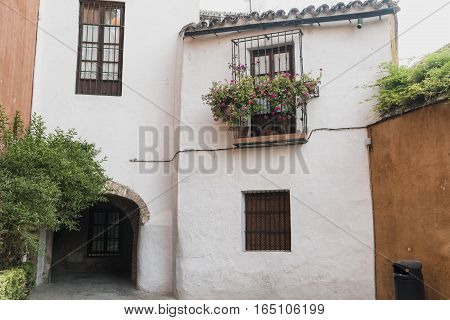 Sevilla (Andalucia Spain): old typical street in the historic quarter known as Barrio Santa Cruz