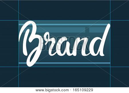 Branding Company Advertising Business Concept Banner Vector Illustration