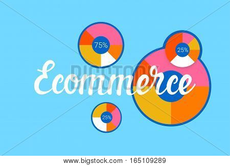 Online Shopping Banner Ecommerce Concept Vector Illustration