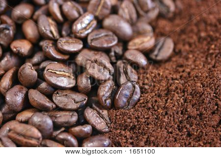 Coffee Beans & Ground