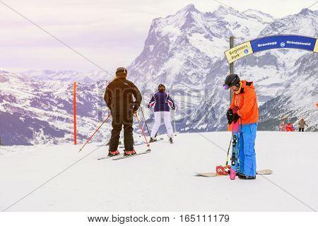 A Popular Ski Trip To Switzerland