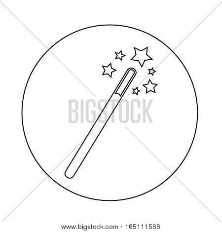 an images of Or pictogram Magic Wand Icon