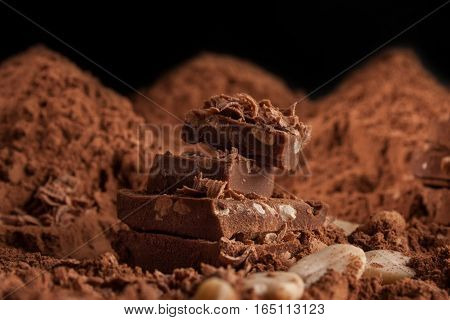 Mountain Of Chocolate