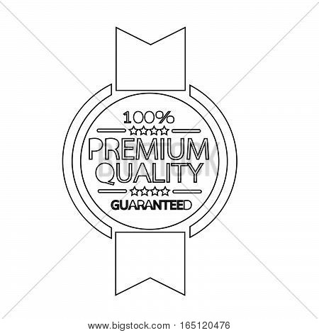 an images of premium quality badge icon