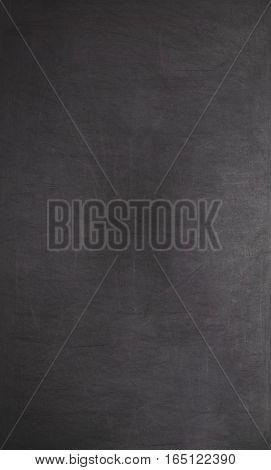 Blackboard / Chalkboard Texture. Empty Blank Black Chalkboard