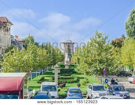 Bucharest, Romania - September 19, 2015. The Way