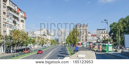 Bucharest, Romania - September 19, 2015. The Way Called