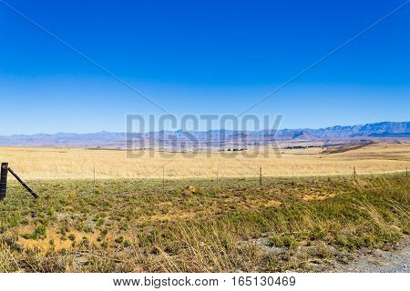 Landscape From South Africa, Dragon's Mountains