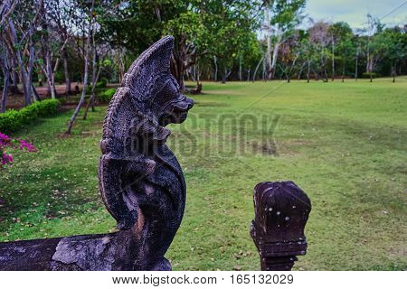 this image is about statue naga , thailand