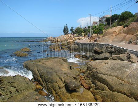 View Of Fish Hoek, Cape Town South Africa,12haa
