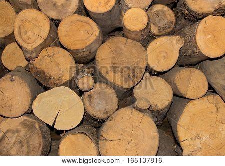 wood lite brown sawed logs natural pattern