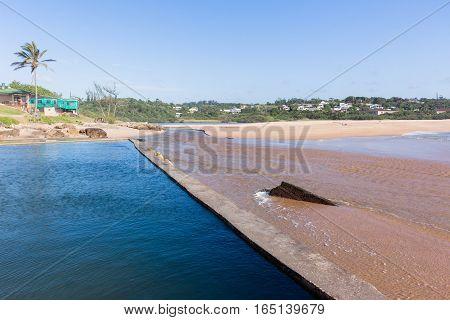 Southbroom Beach Tidal Pool Landscape