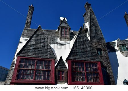 Los Angeles Hollywood USA - july 16 2016 : the wold of Harry Potter