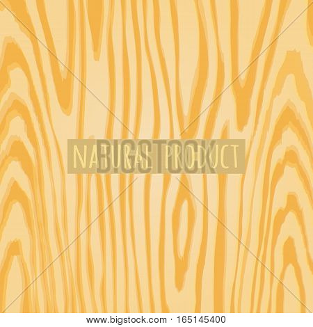 Texture of the wood grain. Background image stock vector illustration.
