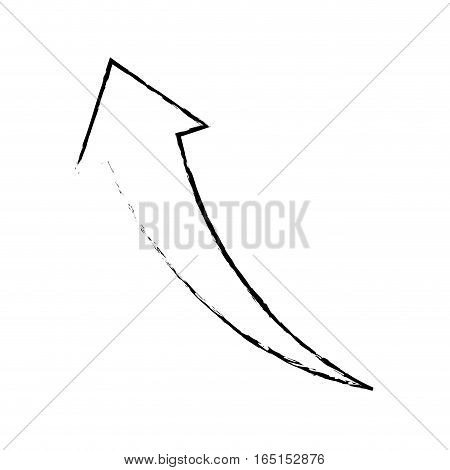 Success arrow up icon vector illustration graphic design