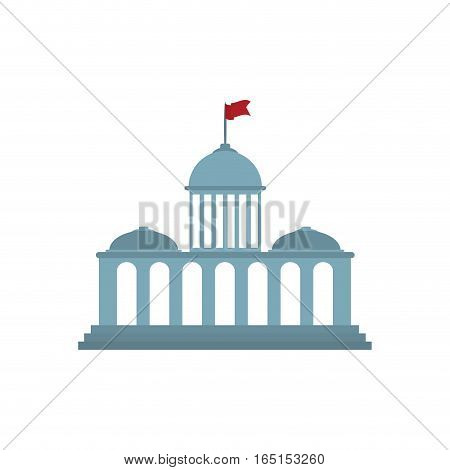 Court building symbol icon vector illustration graphic design