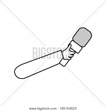 Microphone professional equipment icon vector illustration graphic design