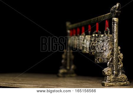 Asian jingling set for decoration and relaxing