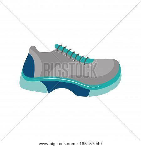 Running sport sneaker icon vector illustration graphic design