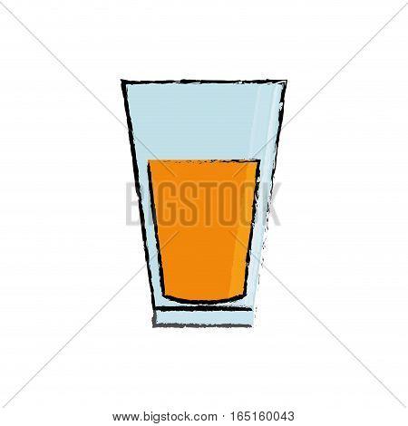 delicious orange juice icon vector illustration graphic design