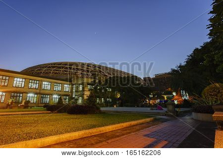 Twilight View Of Songshan Cultural And Creative Park