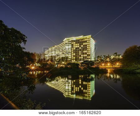 Night View Of Songshan Cultural And Creative Park