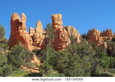 dramatic red rock of Sedona in Arizona