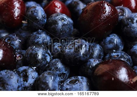 Berry Mix: Blueberries And Cherries
