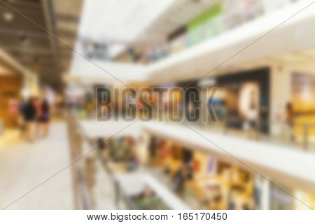 abstract blur background of department store sale season - can use to display or montage on product