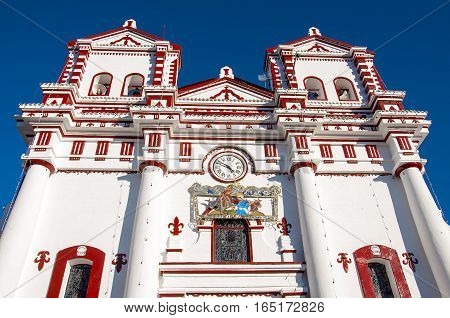 Church of Our Lady of Carmen, in city centre Guatape