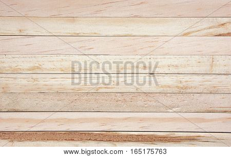 Soft focused picture of natural pattern from Wooden plank brown textures background.