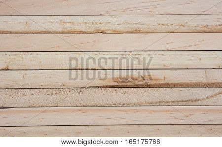 Soft focused picture of Beautiful natural pattern from Wooden plank brown textures background.