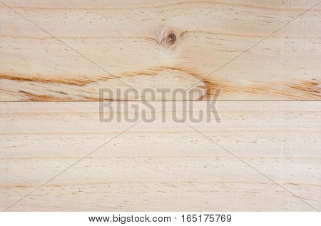 Soft focused picture of natural pattern from Wooden horizontal plank brown textures background.