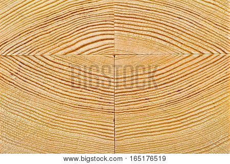 Wood grain close up on stacked wooden blocks