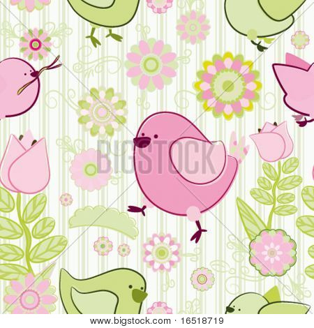 Vector Seamless background. Collection