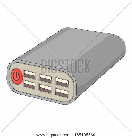 Wi fi router icon. Cartoon illustration of wi fi router vector icon for web