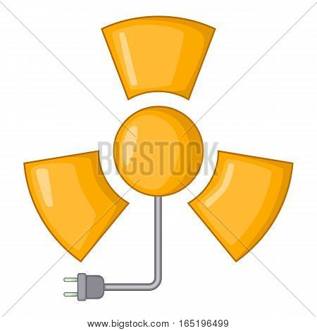 Radiation icon. Cartoon illustration of radiation vector icon for web