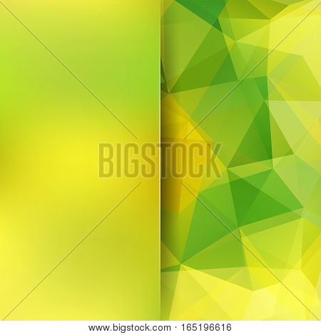 Abstract Mosaic Background. Blur Background. Triangle Geometric Background. Design Elements. Vector